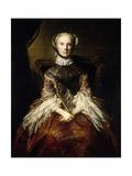 Lady Dorothea Harrison, 1758 Giclee Print by Joshua Reynolds