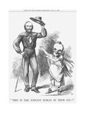 This Is the Noblest Roman of Them All!, 1864 Giclee Print by John Tenniel