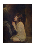 The Infant Samuel, C1776 Giclee-trykk av Joshua Reynolds