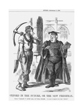 Oxford in the Future, or the New Freshman, 1865 Giclee Print by John Tenniel