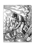 Winemaker, 16th Century Giclee Print by Jost Amman