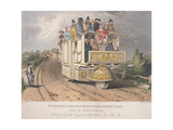 Dr Church's London and Birmingham Steam Coach, 1833 Giclee Print by Josiah Allen