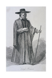 Corpe Bearer, C1665, Cries of London, (C1819) Giclee Print by John Thomas Smith