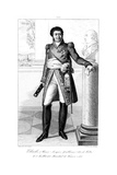 Henri Jacques-Guillaume Clarke (1765-181), Duc De Feltre and Marshal of France, 1839 Giclee Print by Julien Leopold Boilly