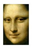 Portrait of Mona Lisa' (Detail), 1503-1506 Giclee Print by  Leonardo da Vinci