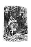 A Teuton Maiden Pursued by Romans, C1880-1882 Giclee Print by Karl Theodor von Piloty