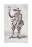 Fire Screen Seller, C1680, from Cries of London, (C1819) Giclee Print by John Thomas Smith