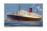 Cunard Line Steamship RMS 'Franconia, C1923-C1939 Giclee Print by Kenneth Denton Shoesmith