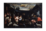 April' (From the Series 'The Seasons), Late 16th or Early 17th Century Giclee Print by Leandro Bassano