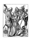 German Musicians, 16th Century Giclee Print by Jost Amman
