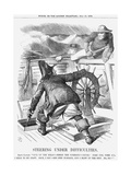 Steering under Difficulties, 1868 Giclee Print by John Tenniel