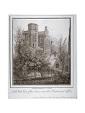 North-West View of the Jewel Tower, Old Palace Yard, Westminster, London, C1805 Giclee Print by John Thomas Smith