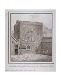 South-West View of the Jewel Tower, Old Palace Yard, Westminster, London, C1805 Giclee Print by John Thomas Smith