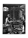 Weaver, 16th Century Giclee Print by Jost Amman