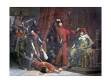 The Provost of Merchants .. and His Heir Apparent Charles, 1879 Giclee Print by Lucien Etienne Melingue