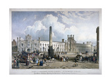 St George's Fields, Southwark, London, C1825 Giclee Print by Louis Haghe
