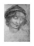 Study for the Head of St Anne, C1508 Giclee Print by  Leonardo da Vinci