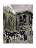 Copper Merchant, Cairo, Egypt, 1928 Giclee Print by Louis Cabanes