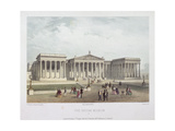 British Museum, Holborn, London, 1854 Giclee Print by Jules Louis Arnout
