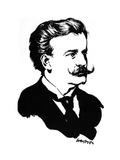 Moriz Rosenthal, Polish-American Pianist, 1912 Giclee Print by Joseph Simpson