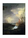 Stormy Sea, C1700-1750 Giclee Print by Leonardo Coccorante