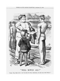 Well Rowed All!, 1869 Giclee Print by Joseph Swain
