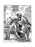 Dentist, 16th Century Giclee Print by Jost Amman