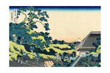 Sundai in Edo (From a Series 36 Views of Mount Fuj), 1830-1833 Giclee Print by Katsushika Hokusai