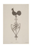Weather Vane from St Stephen, Coleman Street, London, C1850 Giclee Print by JS Gardener
