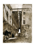 Souks, Cairo, 1928 Giclee Print by Louis Cabanes