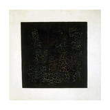 Black Square, Early 1920S Giclée-trykk av Kazimir Malevich