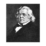 William Makepeace Thackeray Giclee Print by Joseph Simpson