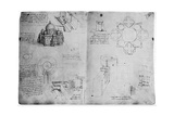 Designs for a Centralized Building, Late 15th or Early 16th Century Giclee Print by  Leonardo da Vinci