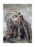 Anthropomorphic Landscape, C1600-1635 Giclee Print by Joos De Momper The Younger