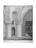 Interior View of the Church of St Bartholomew-The-Great, Smithfield, City of London, 1811 Giclee Print by John Thomas Smith