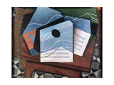 Guitar on a Table, 1915 Giclee Print by Juan Gris