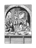 Basin Maker, 16th Century Giclee Print by Jost Amman