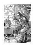A German Man of Letters, 16th Century Giclee Print by Jost Amman