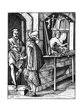 Arquebusier, 16th Century Giclee Print by Jost Amman