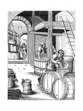 Brewer, 16th Century Giclee Print by Jost Amman