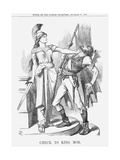 Check to King Mob, 1867 Giclee Print by John Tenniel