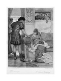 A Silent Greeting, 20th Century Giclee Print by Lawrence Alma-Tadema