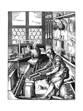 Bookbinders, 16th Century Giclee Print by Jost Amman