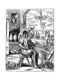 Coppersmith, 16th Century Giclee Print by Jost Amman
