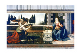 The Annunciation, 1472-1475 Giclee Print by  Leonardo da Vinci