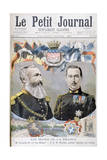 King Leopold II of Belgium and Prince Nicholas of Greece and Denmark, 1895 Giclee Print by Oswaldo Tofani