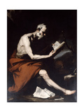 Saint Jerome, 17th Century Giclee Print by Jusepe de Ribera
