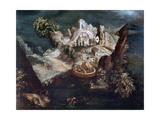 Anthrophomorphic Landscape, C1613-1650 Giclee Print by Matthaus Merian