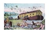 Noah's Ark, 19th Century Wydruk giclee autor Nathaniel Currier