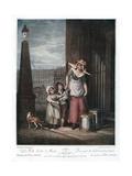 Milk Below Maids, 1793 Giclee Print by Luigi Schiavonetti